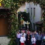 La processione nel centro storico